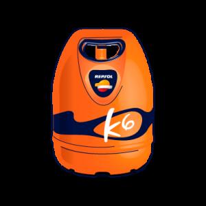 K6 Bombona Butano 6kg